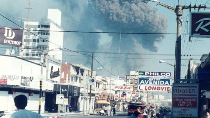 Explosión de la Fábrica Militar de Río Tercero