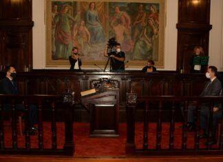 Juramento del Fiscal General Juan Manuel Delgado