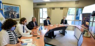 Reunión entre Alberto Fernández y gobernadores